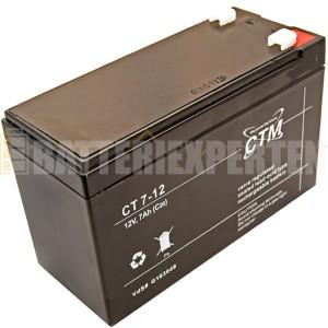 Blybatteri CT 7Ah 12V
